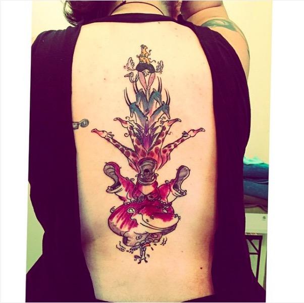 ClioMakeUp-tatuaggi-disney-piccoli-minimal-grandi-colorati-re-leone-animali