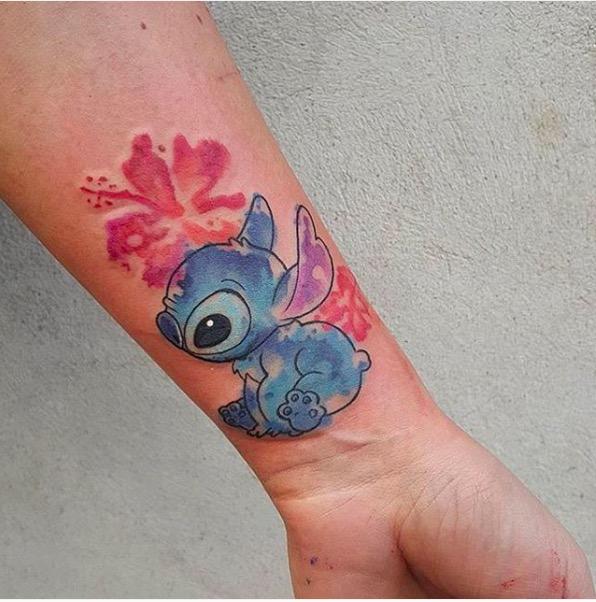 ClioMakeUp-tatuaggi-disney-piccoli-minimal-grandi-colorati-stitch