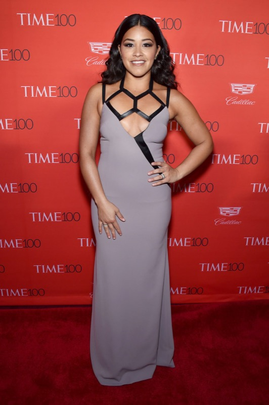 ClioMakeUp-donne-influenti-mondo-time-100-red-carpet-beauty-look-Gina Rodriguez
