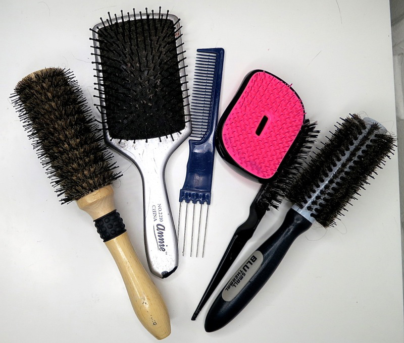Spazzola x capelli lunghi