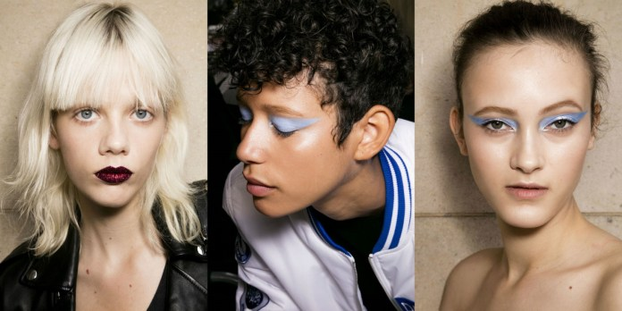 ClioMakeUp-alta-moda-Parigi-cat-eye-Dior-modelle-trucco-beauty-look-atelier-versace