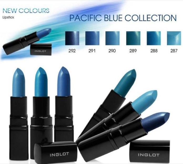 ClioMakeUp-rossetto-blu-look-come-indossarlo-abbinamenti-star-celebrity-brand-inglot-2012