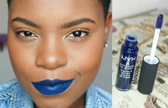 ClioMakeUp-rossetto-blu-look-come-indossarlo-abbinamenti-star-celebrity-brand-nyx-moscow