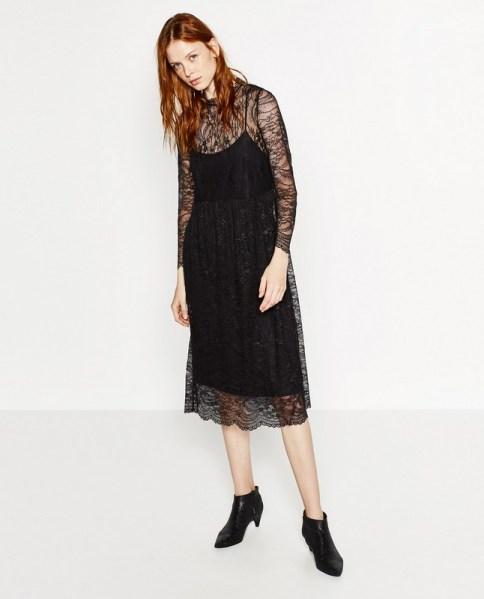 ClioMakeUp-abiti-sembrano-costosi-non-lo-sono-zara-pizzo-nero