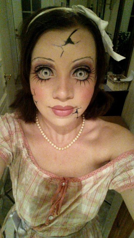Trucco Annabelle Halloween.Trucco Bambola Halloween Chic E Romantica O Assassina