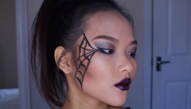 ClioMakeUp-trucchi-halloween-tutorial-facili-veloci-ragnatela4