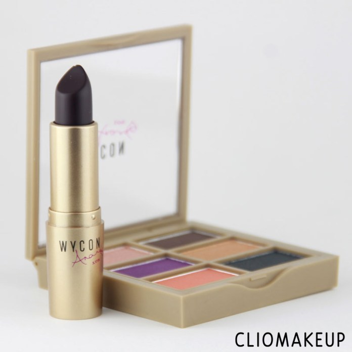 cliomakeup-recensione-eyeshadow-palette-lipstick-anane-collection-wycon-2