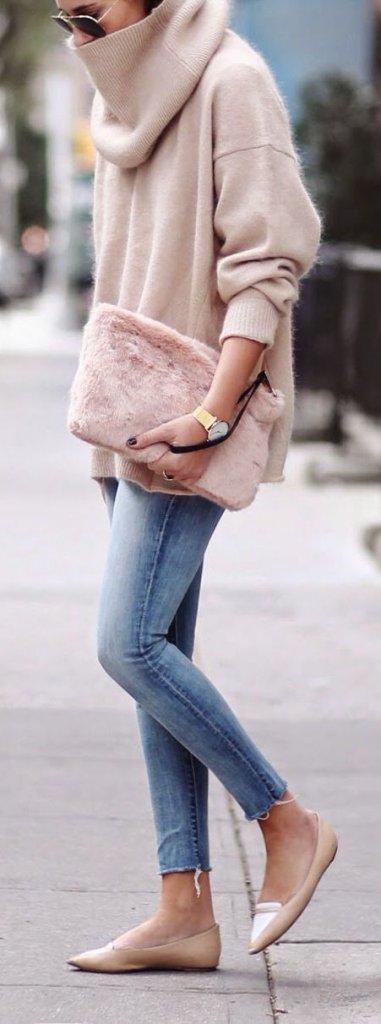 new concept 58318 a3012 Come abbinare il maglione oversize senza sembrare goffe