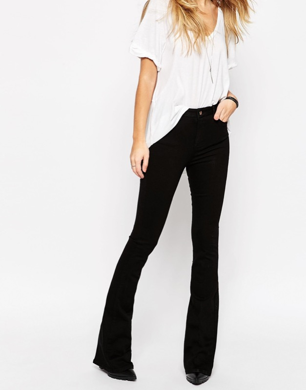 ClioMakeUp-pantaloni-zampa-jeans-flared-asos