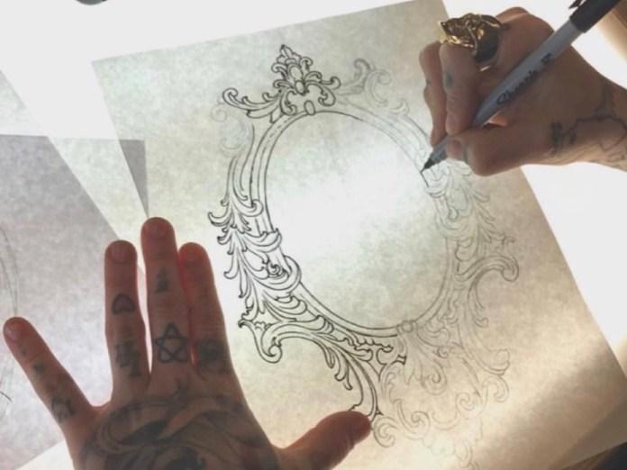 ClioMakeUp-tatuaggi-tattoo-celebrities-stencil