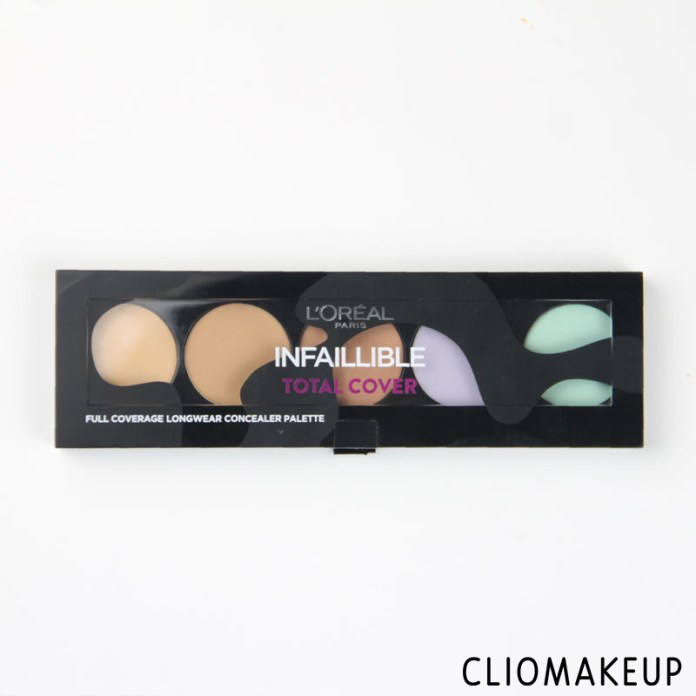 cliomakeup-recensione-infaillible-total-cover-concealer-palette-loreal-paris-1