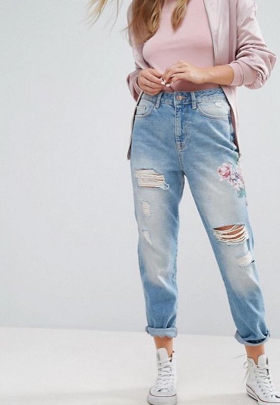 ClioMakeUp-mom-boyfriend-girlfriend-jeans-asos-strappi