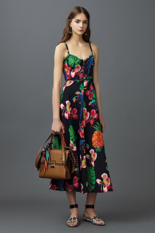 ClioMakeUp-fantasie-primavera-estate-2017-moda-stampe-frutta-fiori-righe-pois-fenicotteri-tropicale-1
