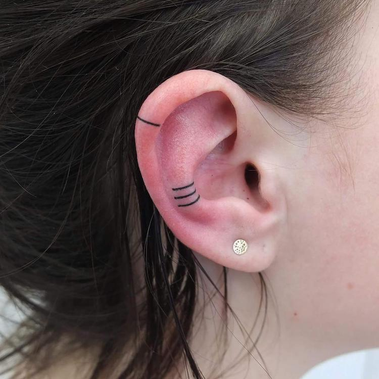 cliomakeup,tatuaggi,orecchio,5,minimal