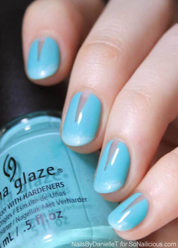 ClioMakeUp-nail-art-unghie-corte-facili-semplici-eleganti-moda-manicure-pois-righe-puntini-6