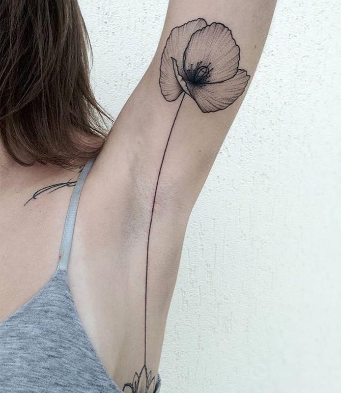 ClioMakeUp-tattoo-sotto-ascelle-trend-nuovo-originale-insolito-doloros-7