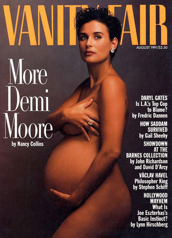 ClioMakeUp-copertina-cover-star-celebrity-vip-incinta-gravidanza-pancione-nuda-clio-3