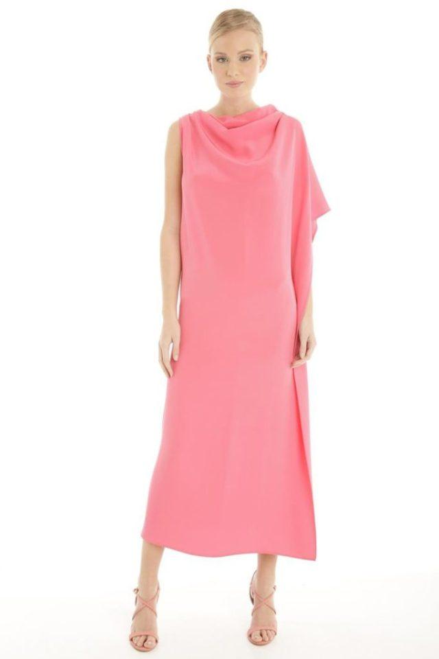 ClioMakeUp-look-invitata-matrimonio-estate-2017-settembre-agosto-rosa-seta-saldi-diffusione-tessile