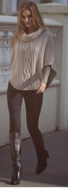 cliomakeup-outfit-leggings-neri-11-poncho