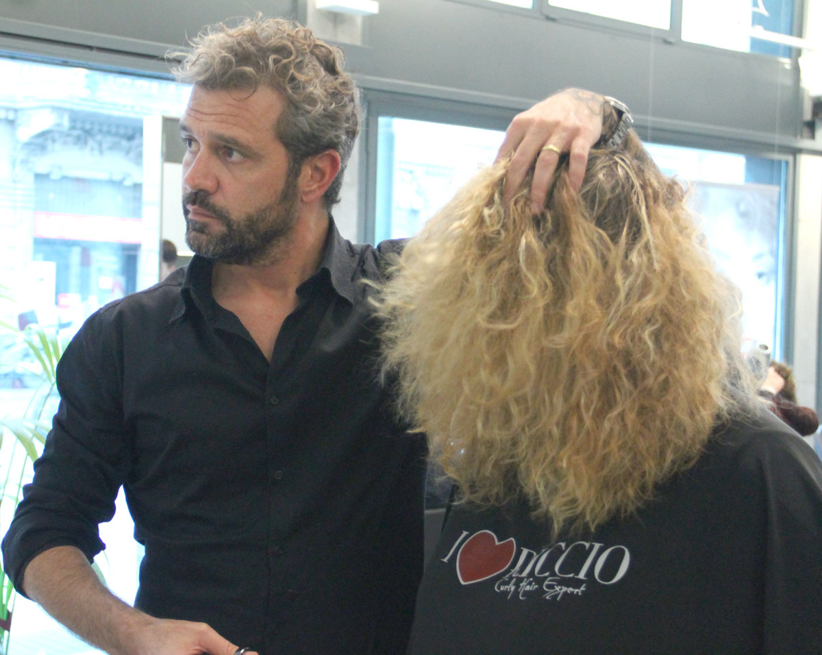 Tagliare i capelli ricci a roma