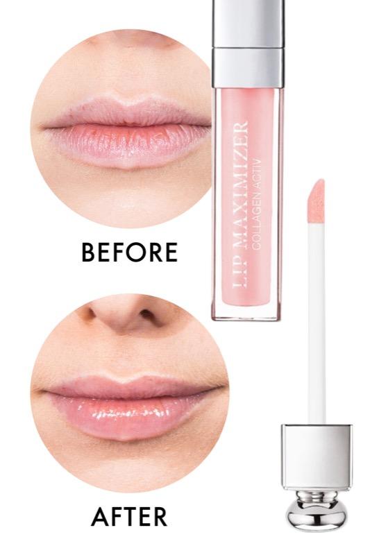 dior lip maximizer  Labbra più carnose con i 6 migliori lip plumper e come usarli