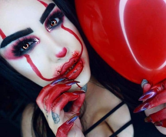 cliomakeup-costumi-halloween-2017-6-pennywise