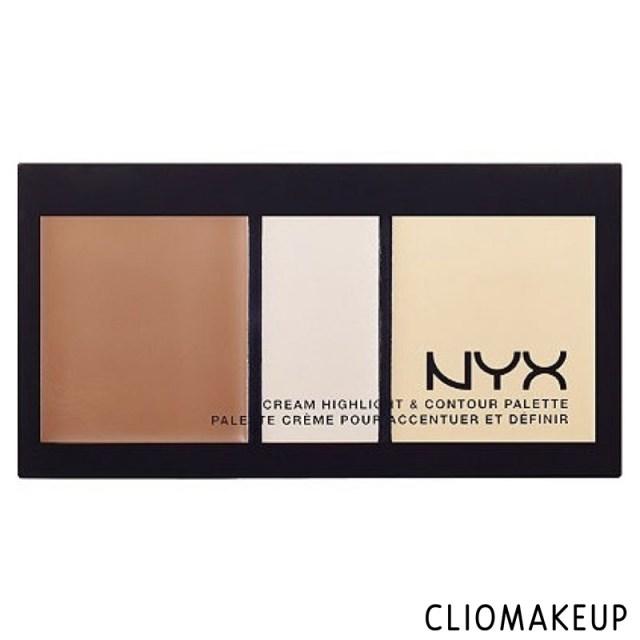 cliomakeup-recensione-cream-highlight-contour-palette-nyx-1