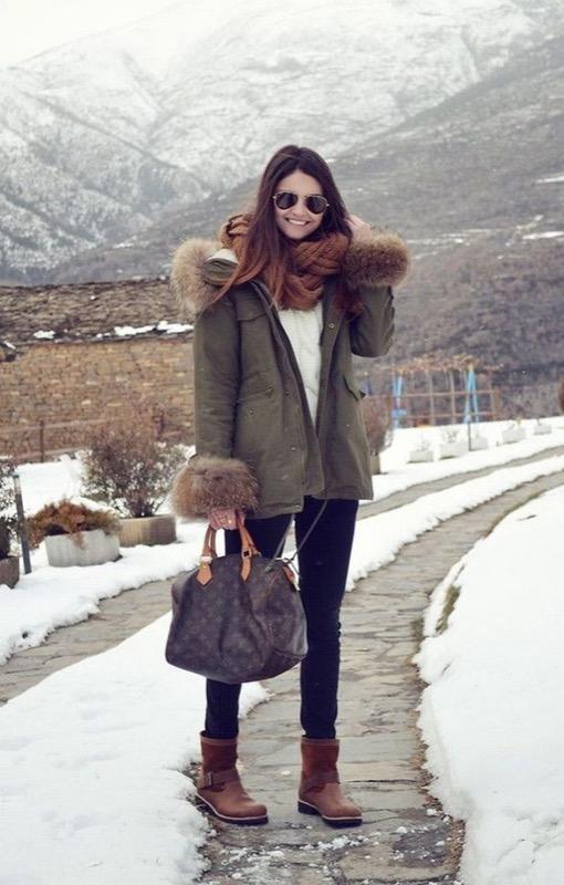 Outfit per la montagna  i look irresistibili anche quando si gela! 36aad45ec18