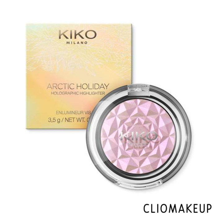 cliomakeup-recensione-arctic-holiday-holographic-highlighter-kiko-1