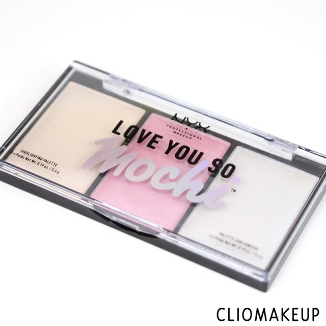 cliomakeup-recensione-love-you-so-mochi-highlighting-palette-nyx-2