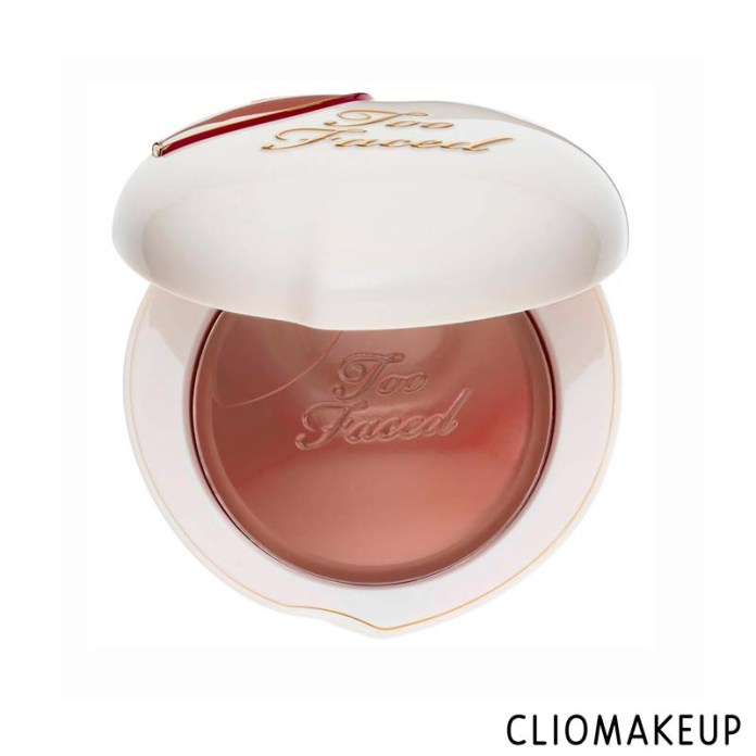 cliomakeup-recensione-blush-too faced-peach-my-cheeks-melting-powder-blush-1