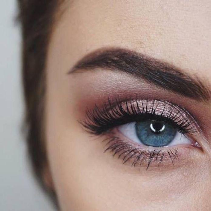 Popolare Come truccare gli occhi azzurri: i migliori make up non banali per UM12