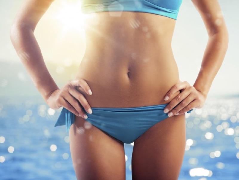 Ceretta bikini in condizioni di casa