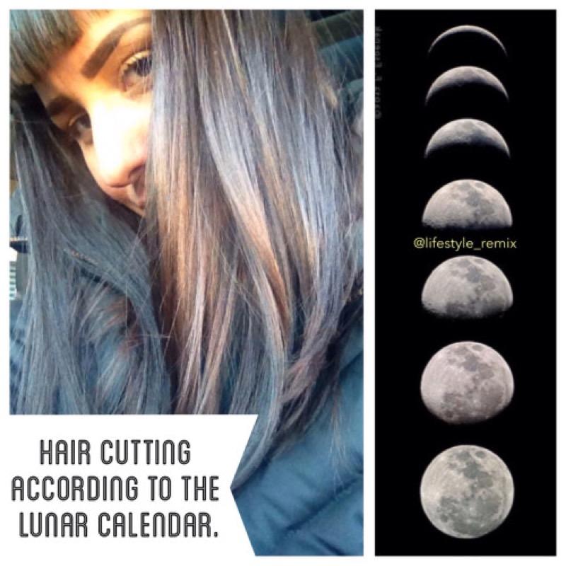 Luna crescente dicembre 2019 taglio capelli