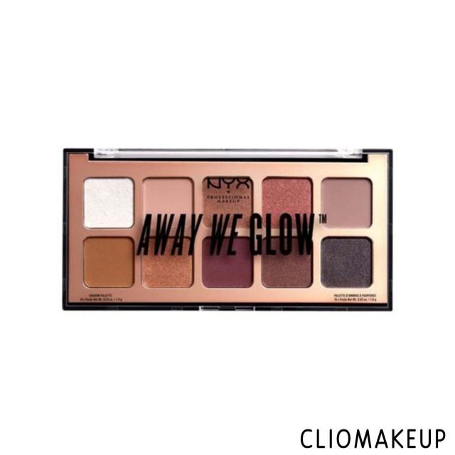 cliomakeup-recensione-palette-nyx-away-we-glow-lovebeam-1