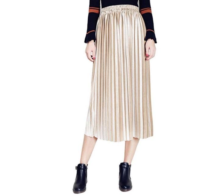 cliomakeup-gonna-plisse-outfit-17-amazon-metallizzata