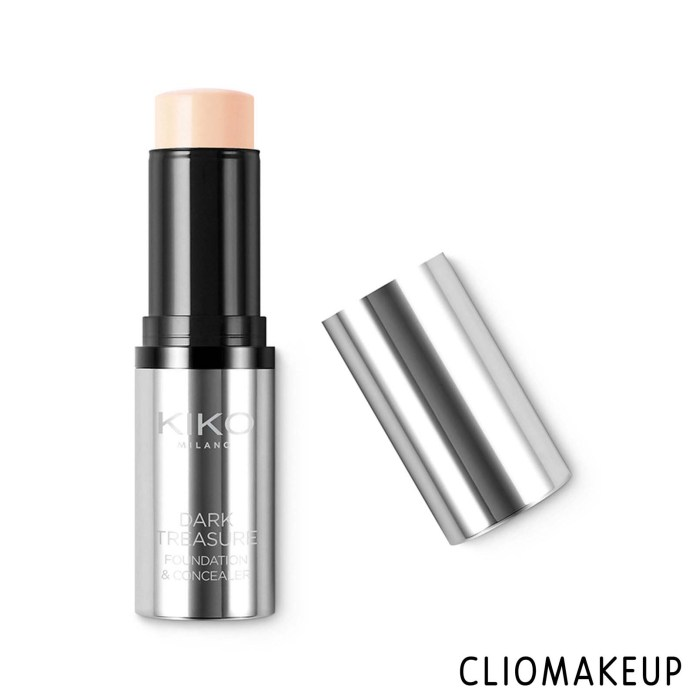 cliomakeup-recensione-fondotinta-kiko-dark-treasure-foundation-and-concealer-1