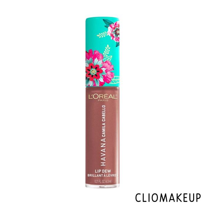cliomakeup-recensione-gloss-loreal-lip-dew-havana-camila-cabello-lip-dew-1