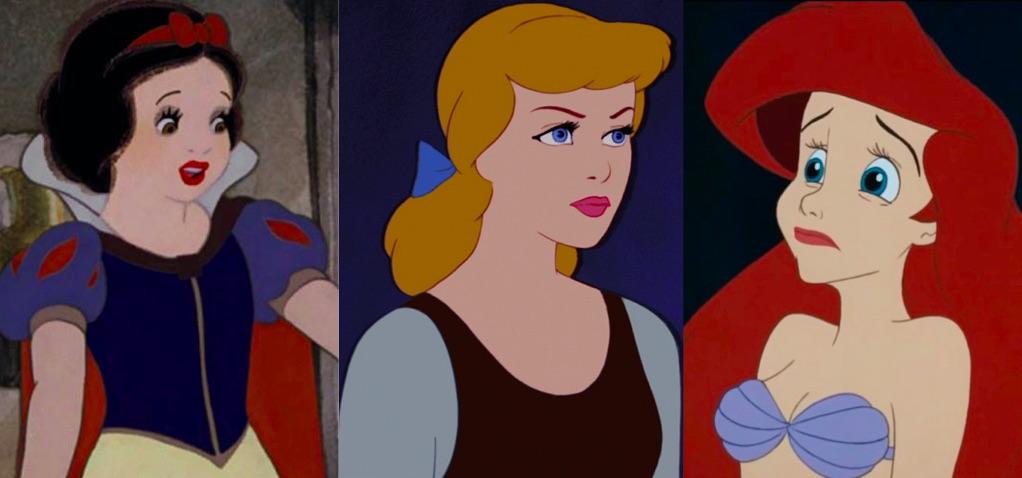 Russe Sborrate Scissoring Scuola Seghe Sesso A Tre Sesso Due principesse Disney si sbattono (Tiana e Charlotte ).