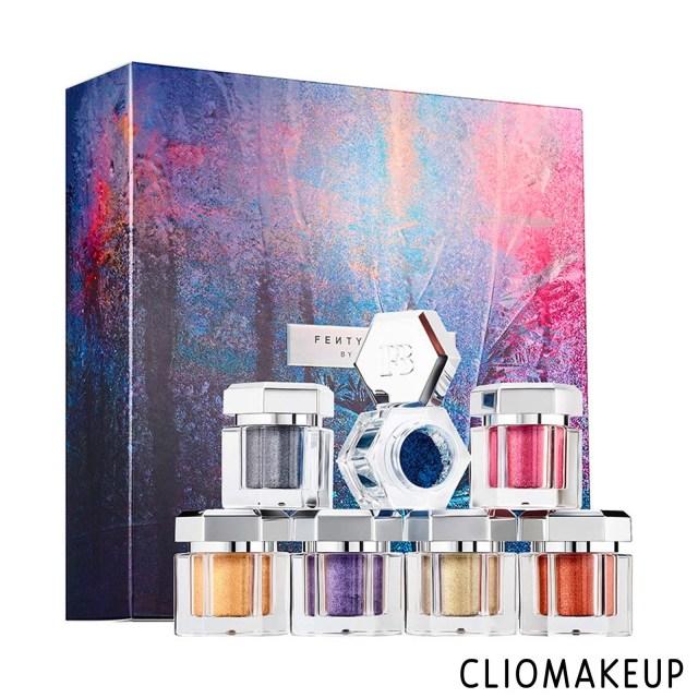 cliomakeup-recensione-ombretti-fenty-beauty-avalanche-metallic-powder-set-1