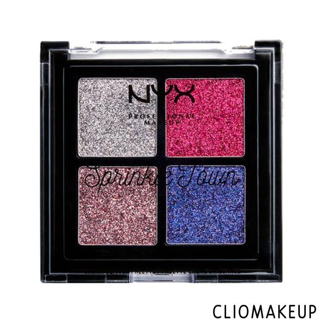 cliomakeup-recensione-palette-glitter-nyx-sprinkle-town-cream-glitter-palette-1