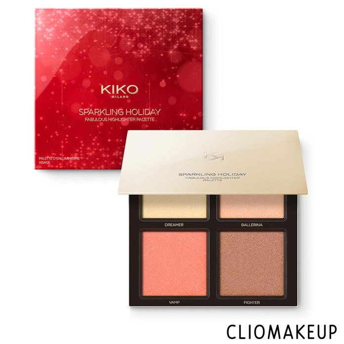 cliomakeup-recensione-illuminanti-kiko-sparkling-holiday-fabulous-highlighter-palette-1
