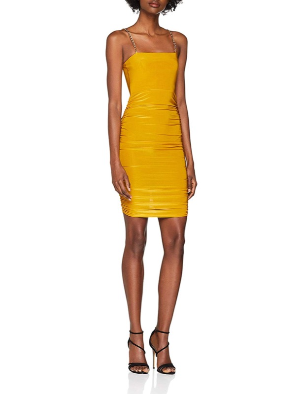 ClioMakeUp-copiare-look-beyonce-5-mini-dress-tubino-giallo-amazon.jpg
