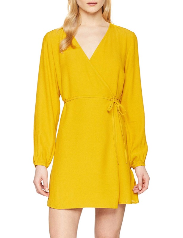 ClioMakeUp-vestiti-gialli-4-vestitino-new-look-amazon.jpg
