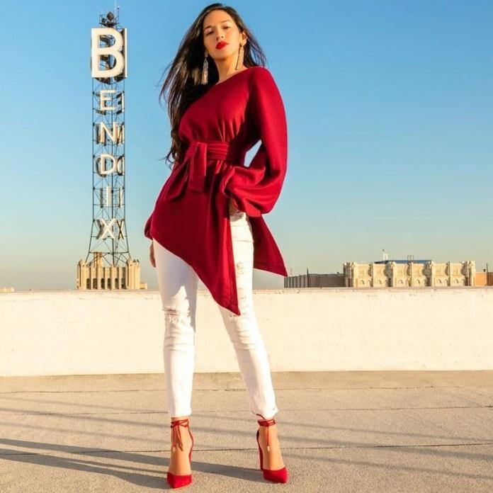 3cf47d0d2134 Abbinare i vestiti rossi  idee di stile per outfit caldi e passionali