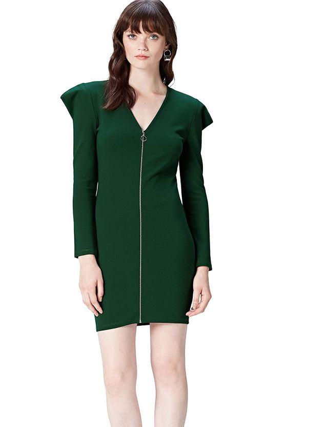 ClioMakeUp-vestiti-verdi-13-mini-dress-zip-amazon.jpg