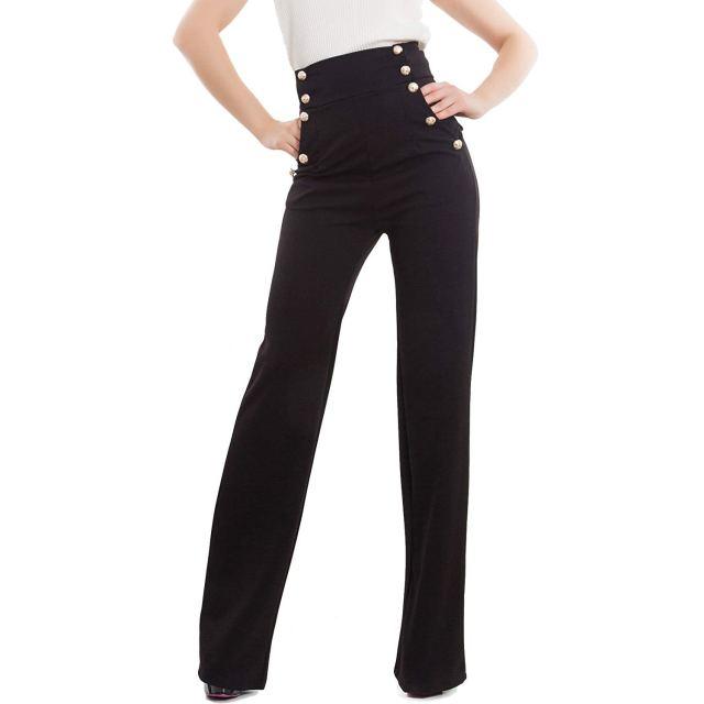 Cliomakeup-copiare-look-emma-roberts-22-pantaloni-neri-vita-alta