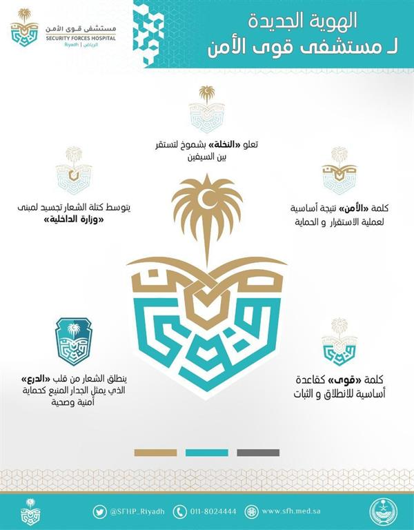 Witness .. Minister of Interior launches the new identity of the Security Forces Hospital in Riyadh