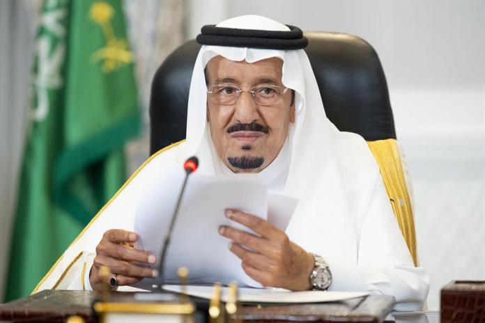 Custodian of the Two Holy Mosques King Salman bin Abdulaziz Al Saud - may God protect him -