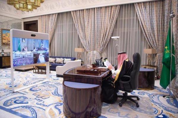 خادم الحرمين الشريفين يفتتح أعمال السنة الأولى من الدورة الثامنة لمجلس الشورى
